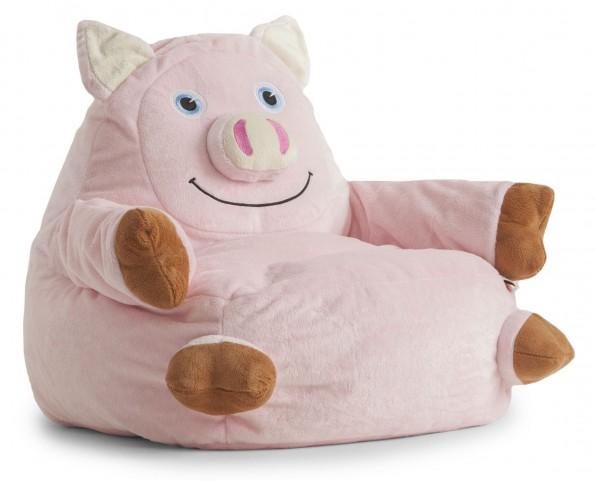 Big Joe Penelope the Pig Short Fur Armchair
