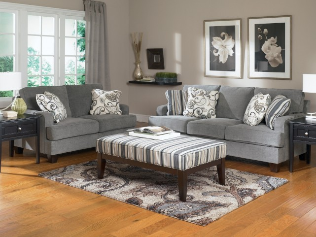 Yvette Steel Living Room Set