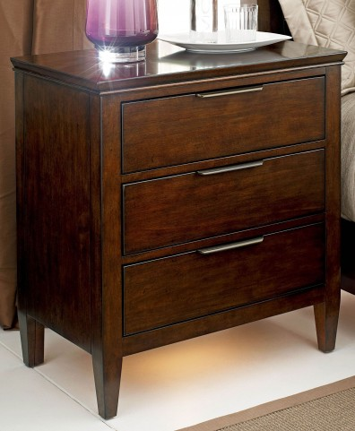 Elise Hand-rubbed amaretto Nightstand