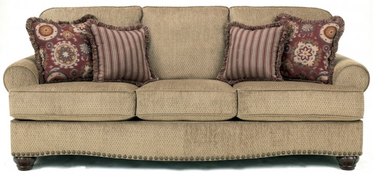 Martin Court Caramel Sofa