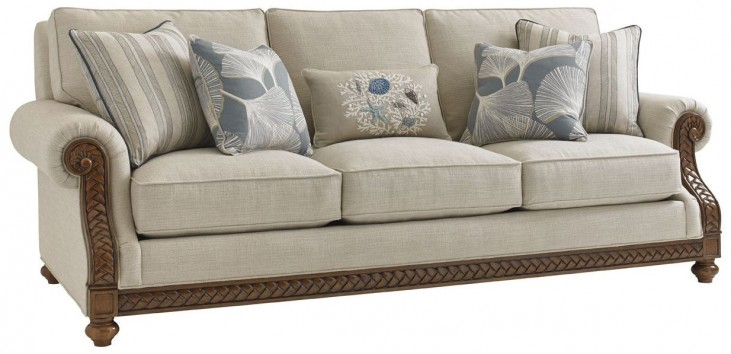 Bali Hai Shoreline Upholstered Sofa
