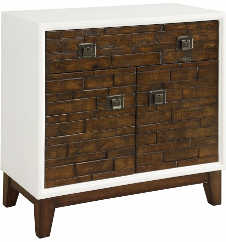 Dark Burnished Walnut 2 Door Cabinet