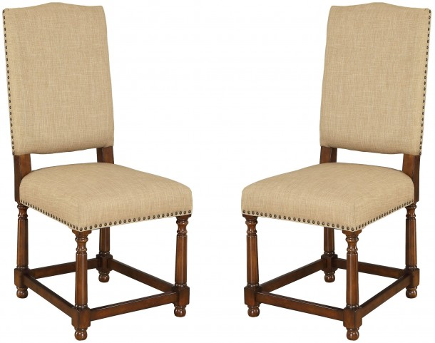 Fabric Dining Chair Set of 2
