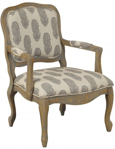 Beechwood Distressed Accent Chair