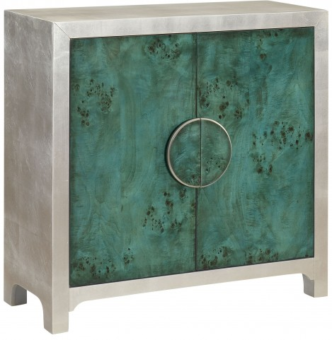 Emerald Isle Green 2 Door Cabinet