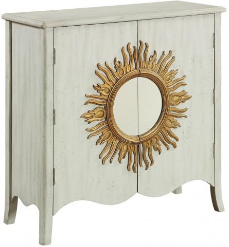 Hudson Textured White 2 Door Cabinet