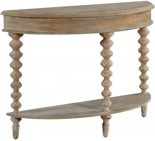 Corrina Natural Washed Demilume Console