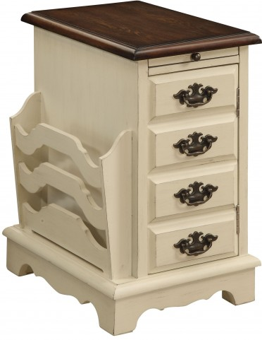 One Door Pull Out Tray Magazine Cabinet