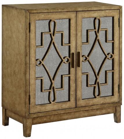 Grafton Metallic Gold 2 Door Cabinet