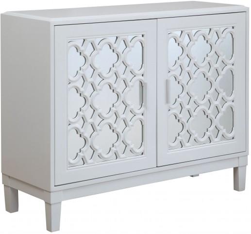 Park Hills White 2 Door Cabinet