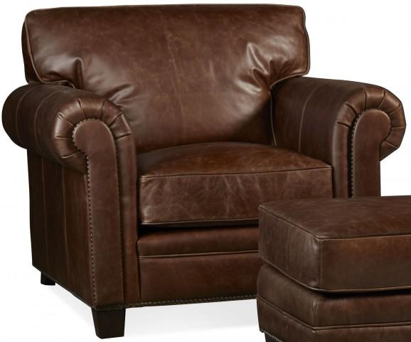 Hillsboro Chaps Havana Brown Chair