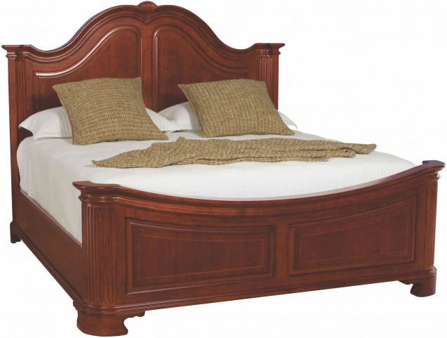 Cherry Grove Classic Antique Cherry King Mansion Bed