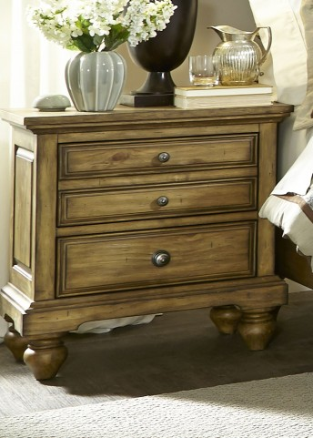 High Country Honey Spice Nightstand