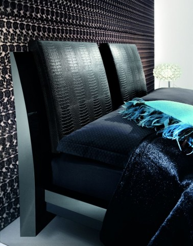 Diamond Black Pillows For Bed Set of 2
