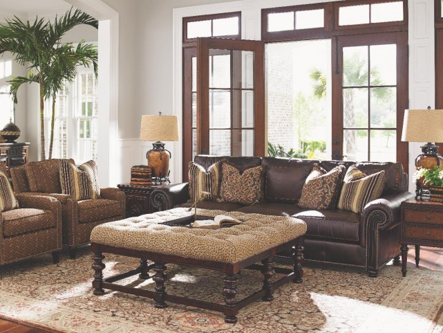 Kilimanjaro Riversdale Leather Living Room Set
