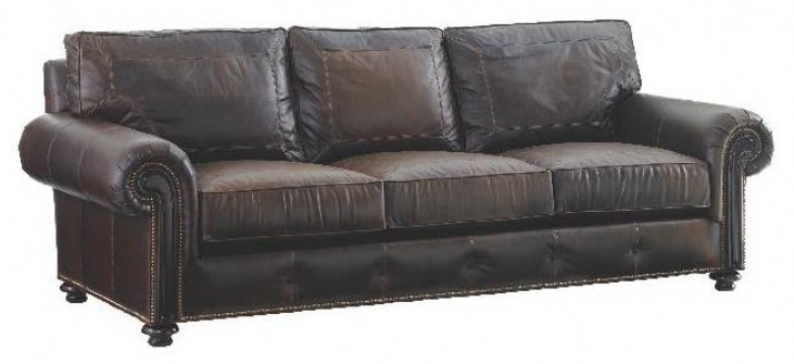 Kilimanjaro Riversdale Leather Sofa