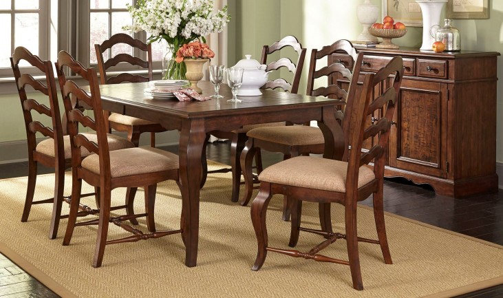 Woodland Creek Rectangular Dining Room Set