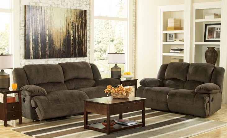 Toletta Chocolate Power Living Room Set