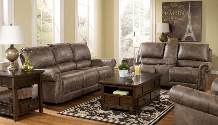 Oberson Gunsmoke Power Reclining Living Room Set