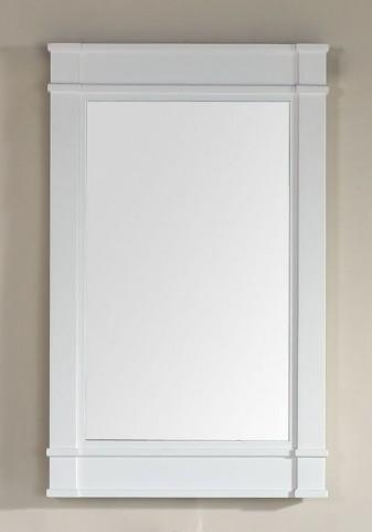 """Madison 26"""" White Single Mirror"""