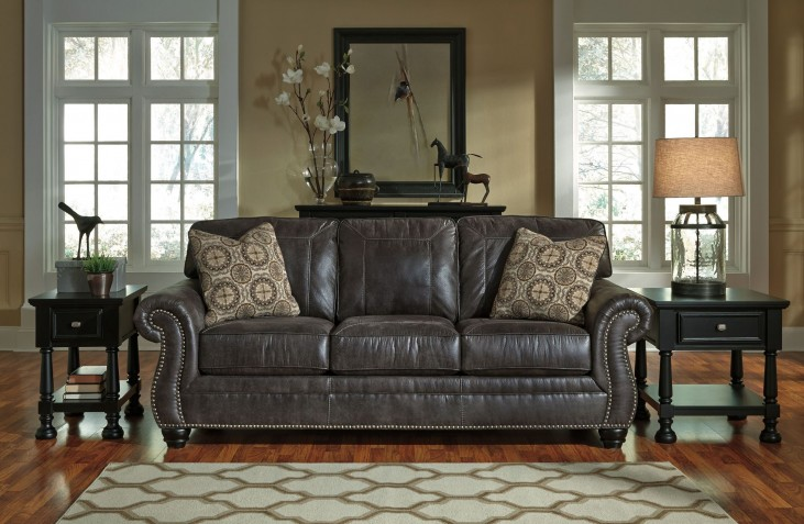 Breville Charcoal Stationary Sofa