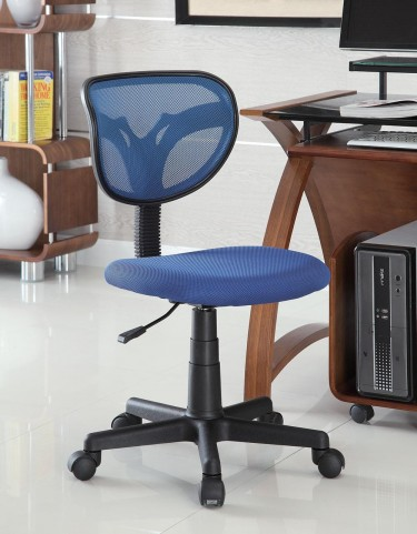 Blue Mesh Office Chair 800055B