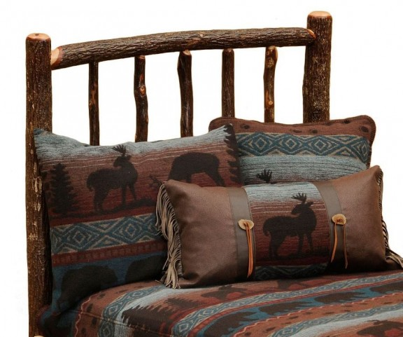 Hickory Queen Headboard