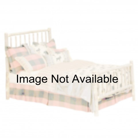 Vintage Cedar Twin Traditional Bed
