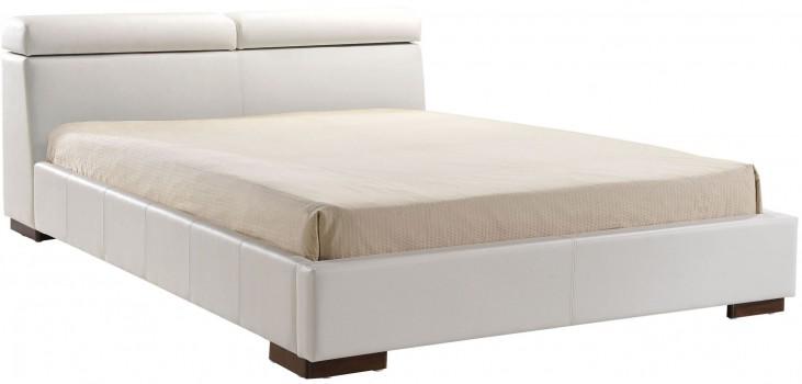 Godard White Queen Platform Bed