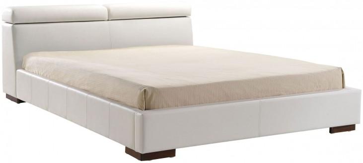Godard White King Platform Bed