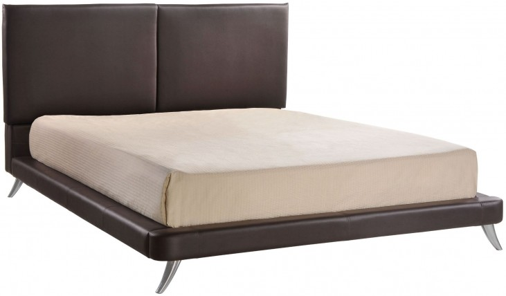 Rivette Espresso Queen Platform Bed