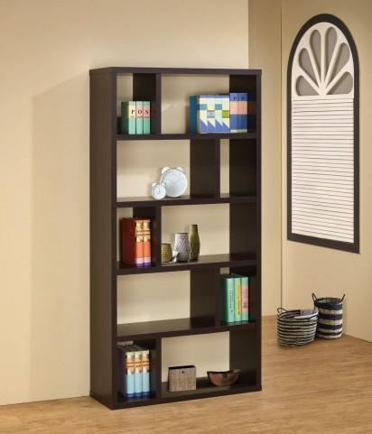 Cappuccino Bookshelf 800296