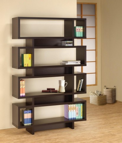 Cappuccino Bookshelf 800307