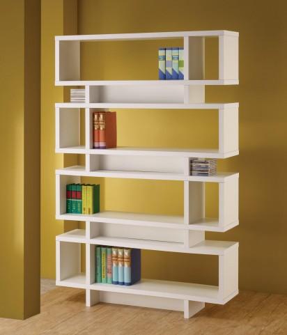 White Bookshelf 800308