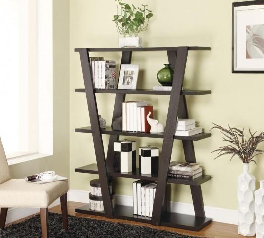 Cappuccino Bookcase 800318