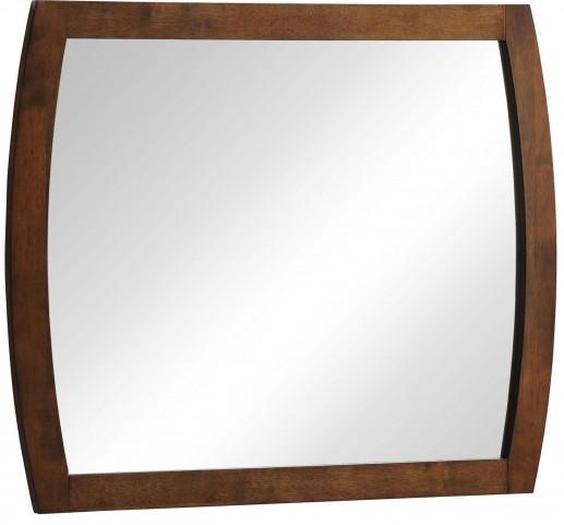 Portland Walnut Mirror