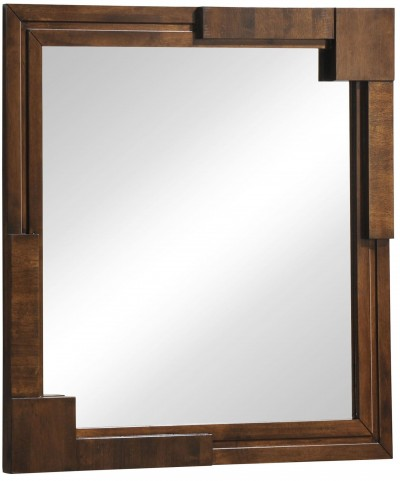 San Diego Walnut Mirror