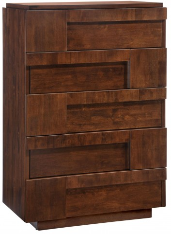 San Diego Walnut High Chest
