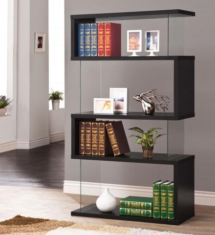 800340 Black Bookshelf