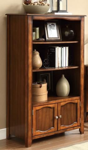 Jacqueline Walnut Bookshelf
