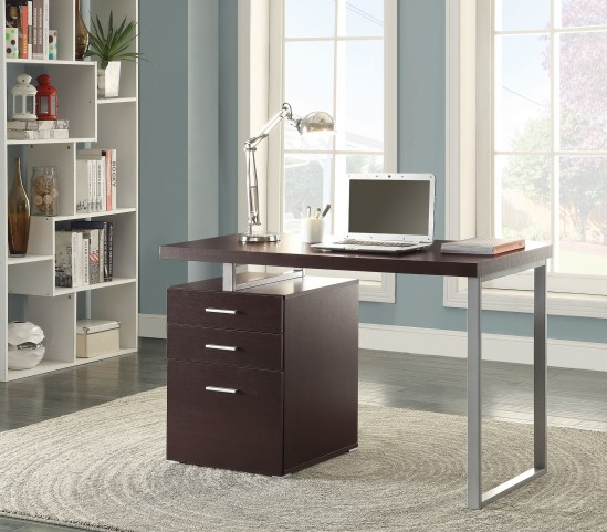 Hilliard Cappuccino Writing Desk