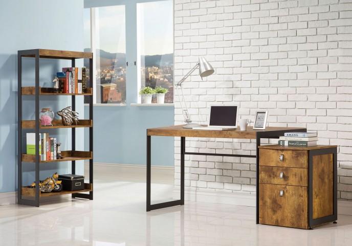 Estrella Antique Nutmeg Home Office Set