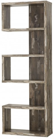 Salvaged Cabin Bookcase