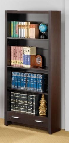Cappuccino Bookcase 800905