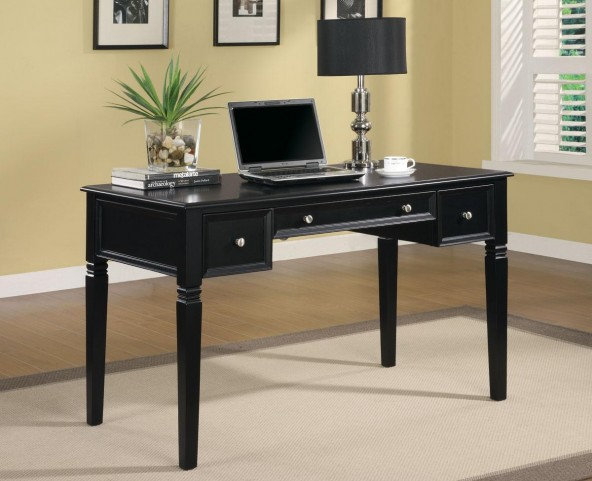 Rich Black Desk 800913