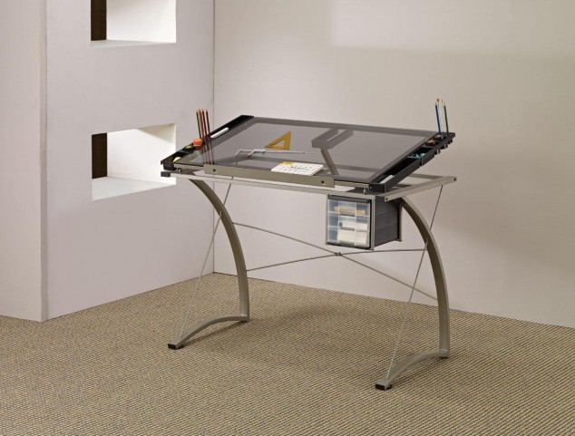 Chrome Desk 800986
