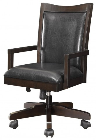 Maclay Dark Brown Office Chair