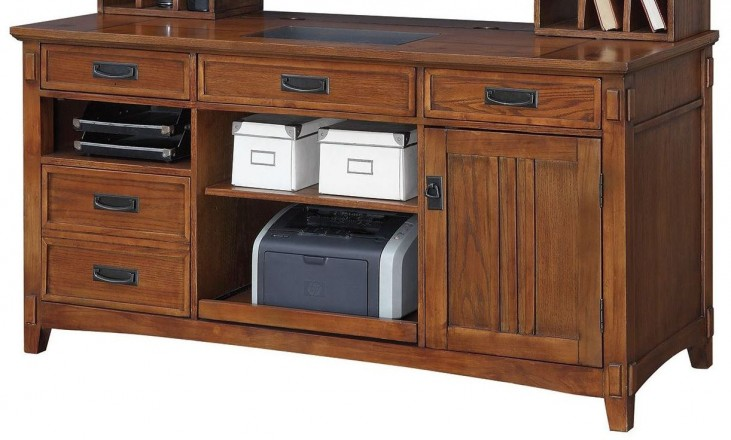 Maclay Red Brown Credenza