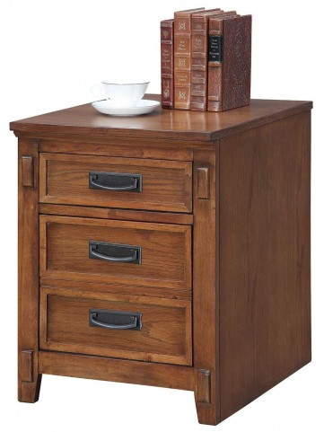 Maclay Red Brown File Cabinet