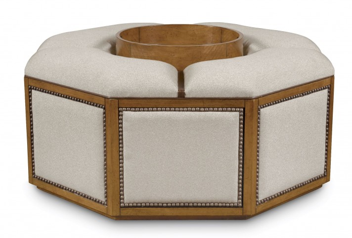The Foundry Brownstone Mcfee Cocktail Ottoman